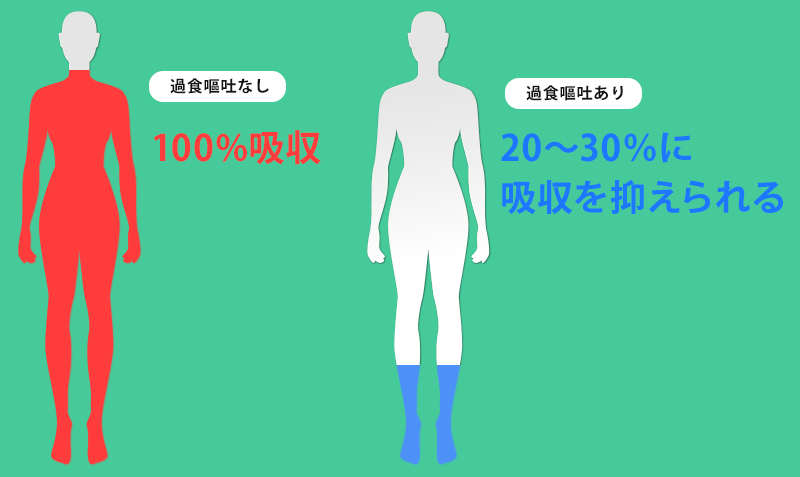過食嘔吐で痩せない理由と痩せるためには01